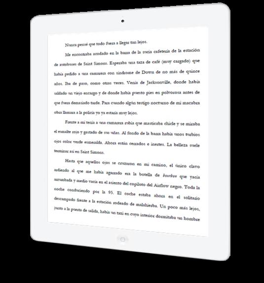 La historia de Rebeca B., en libro electrónico